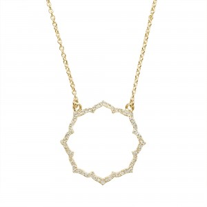 Collier Blossom, Or jaune,...