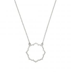 PROMESSE - Bracelet divine, semi-pavé de diamants