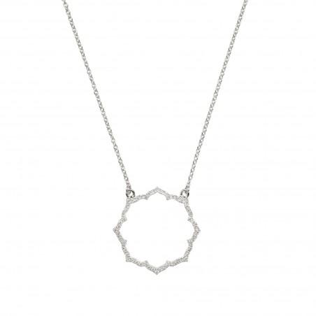 PROMESSE - Bracelet Divine, Semi-diamond paved