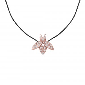 Thread Necklace rose gold...