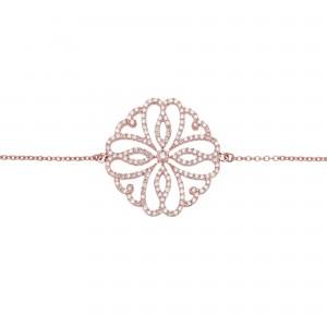 Bracelet Hibiscus, Rose...