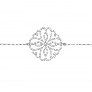 Bracelet Hibiscus, White...