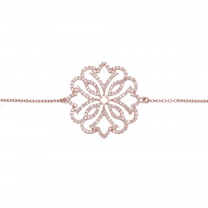Bracelet Exotic, Rose gold,...