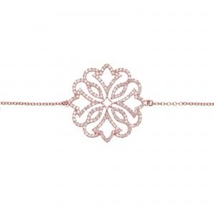 Exotic 手链:玫瑰金、钻石