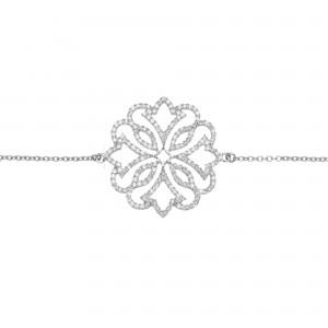 Exotic 手链:白金、钻石