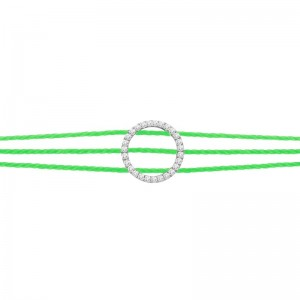 3 thread bracelet Silver...