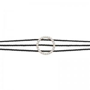 Bracelet 3 threads plated...