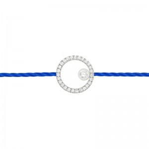 Bracelet fil, Cercle Diamanté