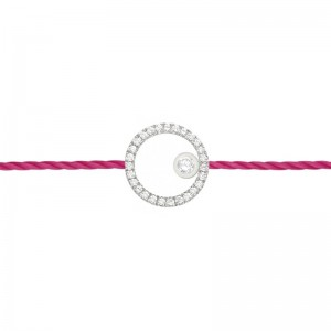 Thread bracelet Silver and...